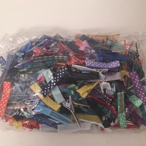 210 Hair Clips for Bows